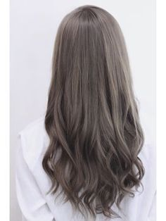 Trendy hair color rose gold ash ideas – Hair… – - All About Hairstyles Ashy Hair, Brunette Hair, Brunette Highlights, Ombre Hair, Balayage Hair, Ash Brown Hair Color, Ash Color, Asian Ash Brown Hair, Cool Brown Hair