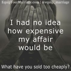 I had no idea how expensive my affair would be #marriage #Spouse #love #maritalaction