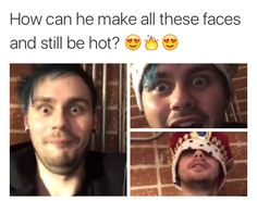 because he's michael clifford that's how