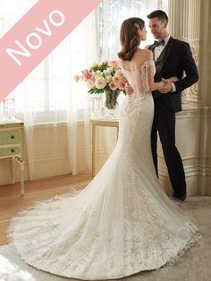 Vestido de Noiva romântico para a noiva diva. Escolha sentir-se espetacular. Escolha a London Noiva e Noivo Curitiba