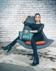 Freya handbag crafted in Genuine Ostrich Dont Mess With Me, Boots, Sweaters, Collection, Instagram, Dresses, Image, Poster, Fashion