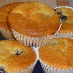 Rezept Heidelbeer-Joghurt Muffins von steffilein0412 - Rezept der Kategorie Backen süß