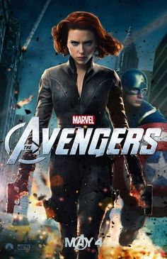#avengers poster #blackwidow and #captainamerica