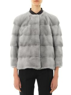 Lilly E Violetta Sarah mink fur jacket