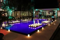 All lit up for a party! Hold your next big event at #WinduVillas #Bali #luxury #Holiday #privatehotel