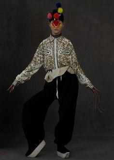 The Peking Opera Kiki Xue Harper's Bazaar | Lancia TrendVisions
