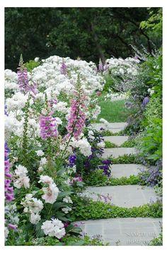 Garden Types, Diy Garden, Garden Cottage, Dream Garden, Garden Paths, Balcony Garden, Shade Garden, Garden Wallpaper, Flowers Wallpaper