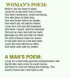 Stupid poems that make you laugh