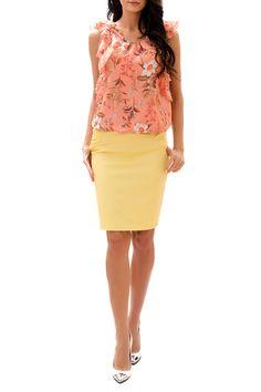 Dámské elegantní šaty s volánky RADEKS - světle zelená  3c85548207
