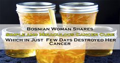 Bosnian Woman Shares Simple and Miraculous Cancer Cure Which in Just Few Days Destroyed Her Cancer
