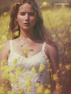 Jennifer Lawrence - Love her! She has the same sense of humor as I do.