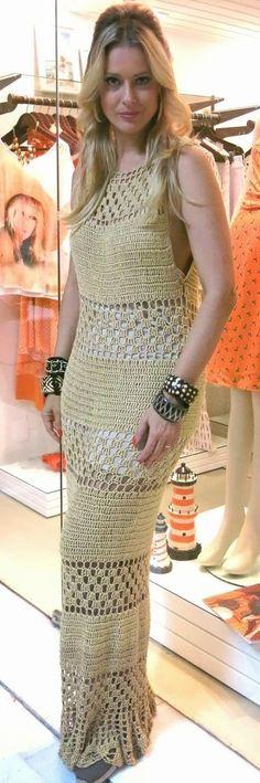 Örgü Bayan Elbise Modelleri 8 - Mimuu.com