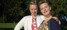Emilia Weir og Camilla van Norde