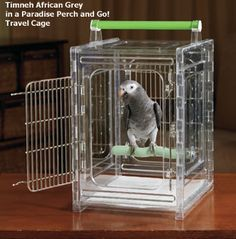Paradise Perch and Go! Travel Cage