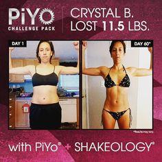 September Challenge Pack!! PiYo + Shakeology $70 savings!!