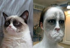 It's True Some #Cats And Owners Look The Same! http://techmash.co.uk/2014/04/30/its-true-some-cats-and-owners-look-the-same/