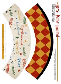 Harry Potter Free Party Printables   The Wandering Reader Blog