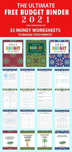 Monthly Budget Printable, Budget Planner Template, Monthly Budget Planner, Budget Binder, Free Printables, Budget Templates, Printable Planner, Printable Budget Worksheet, Weekly Budget