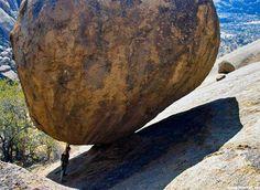 Think big. #bouldering