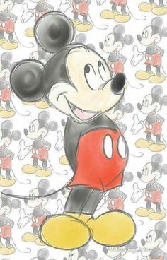 Wallpaper Iphone Disney Mickey Art Mice 55 Ideas For 2019 Disney Mickey Mouse, Mickey Mouse Kunst, Mickey Mouse Y Amigos, Mickey Mouse Drawings, Retro Disney, Mickey Mouse Images, Mickey Love, Mickey Mouse And Friends, Disney Drawings