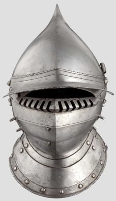 A South German burgonet with pivoted bevor, probably from Augsburg, circa 1550/60 http://www.hermann-historica.de/auktion/images67_max/80772_e.jpg