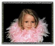 "Classic color photo blanket. Our 100% cotton Classic Color Photo Blanket measures approximately 54"" x 60"". Substantially similar in quality and resolution to our Prestige Full Color Tapestry Photo Blanket this photo blanket is superior in quality to any competitive photo blanket available today.  One photo per blanket.  Borders, text and photo collages are not available on this product.   Perfect gift for all occasions."
