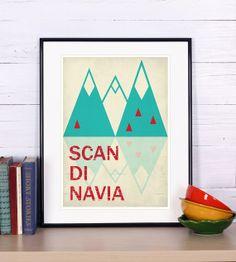 Scandinavia [SB0411] | Posters | størblends