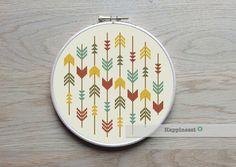 cross stitch pattern arrows, arrows aztec, PDF pattern ** instant download**