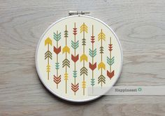 cross stitch pattern arrows, arrows aztec, PDF pattern ** instant download**