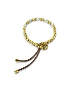 Michael Kors Bead Stretch with Crystals Women's Bracelet