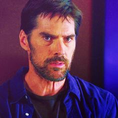 Criminal Minds Aaron Hotchner - that beard is perf Hotch
