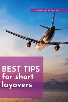 Flying can be a hassle, but short layovers are the worst, right? If you get stuck with a short layover, you need our best tips for short layovers. Read here to learn what to do to avoid missing your connecting flight. | travel tips | flight tips | travel planning | travel hacks Air Travel Tips, Travel Hacks, Travel Advice, Vacation Destinations, Dream Vacations, Best Luggage, International Travel Tips, Short Break, What To Pack
