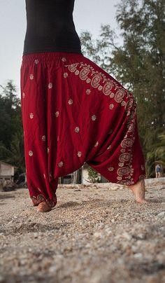 Dazzling stylish   harem pants  design ideas for fashionable ladies    (10)