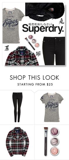 """""""The Cover Up – Jackets by Superdry: Contest Entry"""" by ajspragu02 ❤ liked on Polyvore featuring Superdry and Bare Escentuals"""