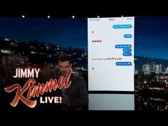 Jimmy Kimmel Texts His Niece About One Direction Split - YouTube