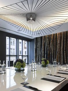 Peel Meeting & Private Dining Room by South Place Hotel, via Flickr