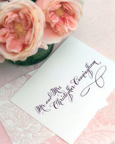 Wedding Calligraphy Envelope AddressingThe by AbigailTCalligraphy, $2.00