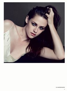 Kristen Stewart Poses for Inez & Vinoodh in the Cover Shoot of V Magazine #81 | Fashion Gone Rogue: The Latest in Editorials and Campaigns. SALVAJE + FUERTE + VULNERABLE