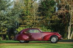 The car is now up for auction from RM Auctions at their Paris event on February 4, 2015, and is expected to fetch a high price for its stunning restoration work and historical significance.