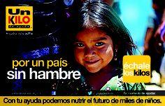 Campaña nacional de recaudación 2013 de Un Kilo de Ayuda
