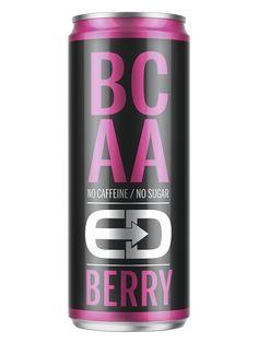 BCAA-juomien tuoteryhmä on nopeassa kasvussa niin Suomessa kuin maailmallakin. BCAA-juomat sisältävät haaraketjuisia aminohappoja sekä vitamiineja ja antavat aktiiviurheilijan lihaksille energiaa ja rakennusaineita. Lisäksi juomat piristävät ja energisoivat.  ED BCAA Berry on haaraketjuisia aminohappoja ja vitamiineja (B6 ja B12) sisältävä kofeiiniton ja sokeriton  juoma.