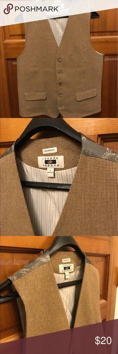 Joseph A Bank vest Joseph A Bank (Abboud) vest. Great with jeans and shirt, tie combo. Tailored fit. Joseph A Bank Suits & Blazers Vests