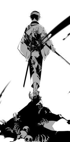 Shinsuke Takasugi Gintama art