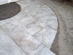 White, Marble  Concrete Walkways  New England Hardscapes Inc  Acton, MA