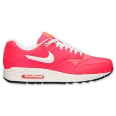 Nike Air Max 1 Premium Heren Hyper Punch Ivoor Kleur Licht Oranje Zwart Schoenen kopen. Factory Store Belgie