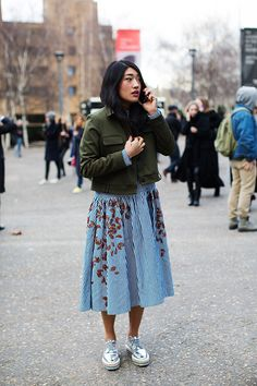 On the Street…Holland St., London (from The Sartorialist) See more at http://www.thesartorialist.com/?p=61048