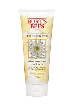 Burt's Bees Soap Bark & Chamomile Deep Facial Cleansing Cream - 170 g Burt's Bees, Pimple Cream, Natural Face Cleanser, Natural Skin, Natural Facial, Natural Beauty, Best Face Wash, Facial Cleansers, Clean Face