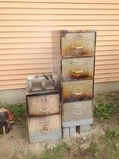filing cabinet smoker - finished pics | BBQ smokers | Pinterest ...