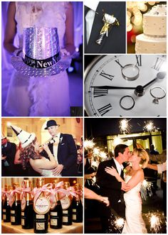 New Year's Eve Wedding #ido #inspiration