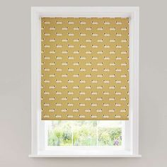 Complete with daylight lining to diffuse light within your room and the benefit of providing privacy, this patterned roller blind features a sausage dog design . Dog Bedroom, Bathroom Blinds, Roller Blinds, Soft Furnishings, Home Accessories, Kitchen Decor, Family Room, New Homes, Curtains